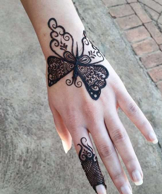 Latest and Simple Mehndi Designs For Girls
