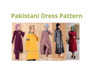 pakistani dress pattern