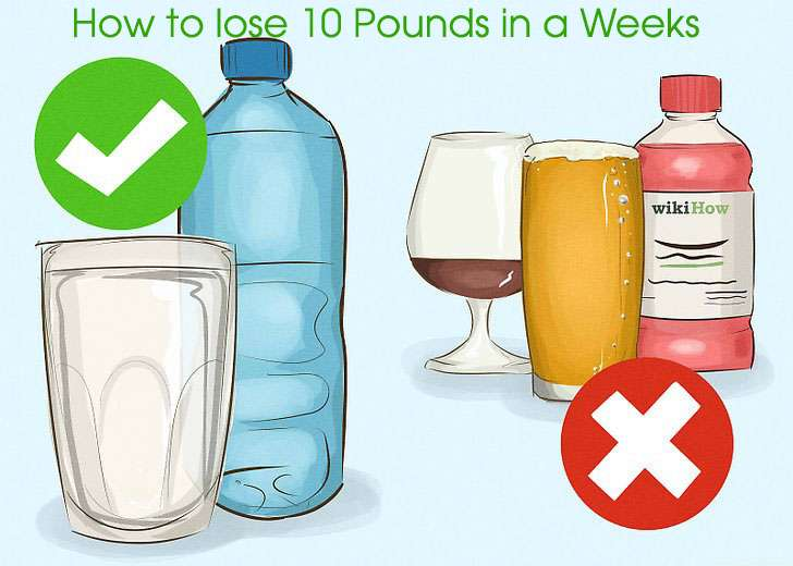 How to lose 10 Pounds In a Week:A 7 Days Diet and workout